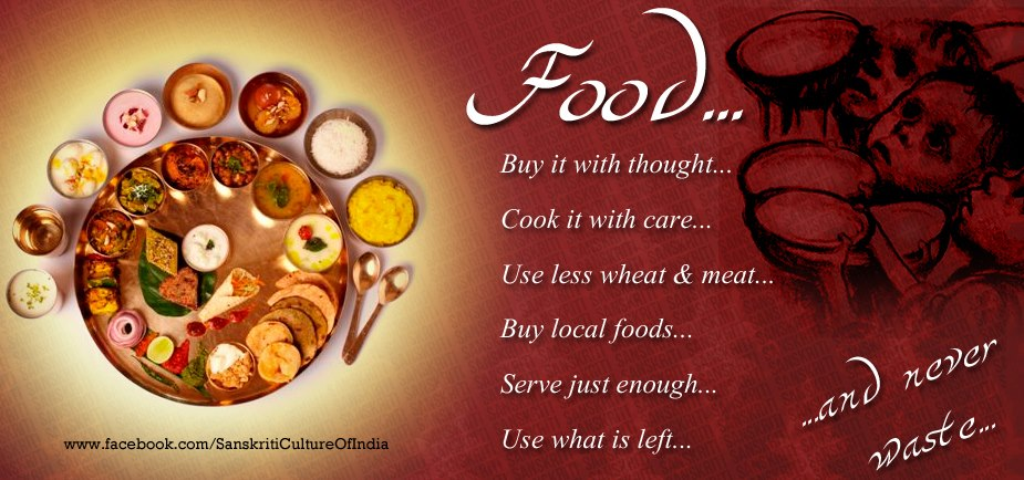 Food.. think GIVE not WASTE