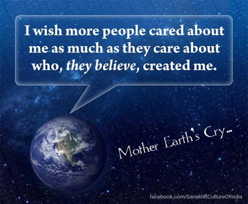 Mother Earth's Cry!