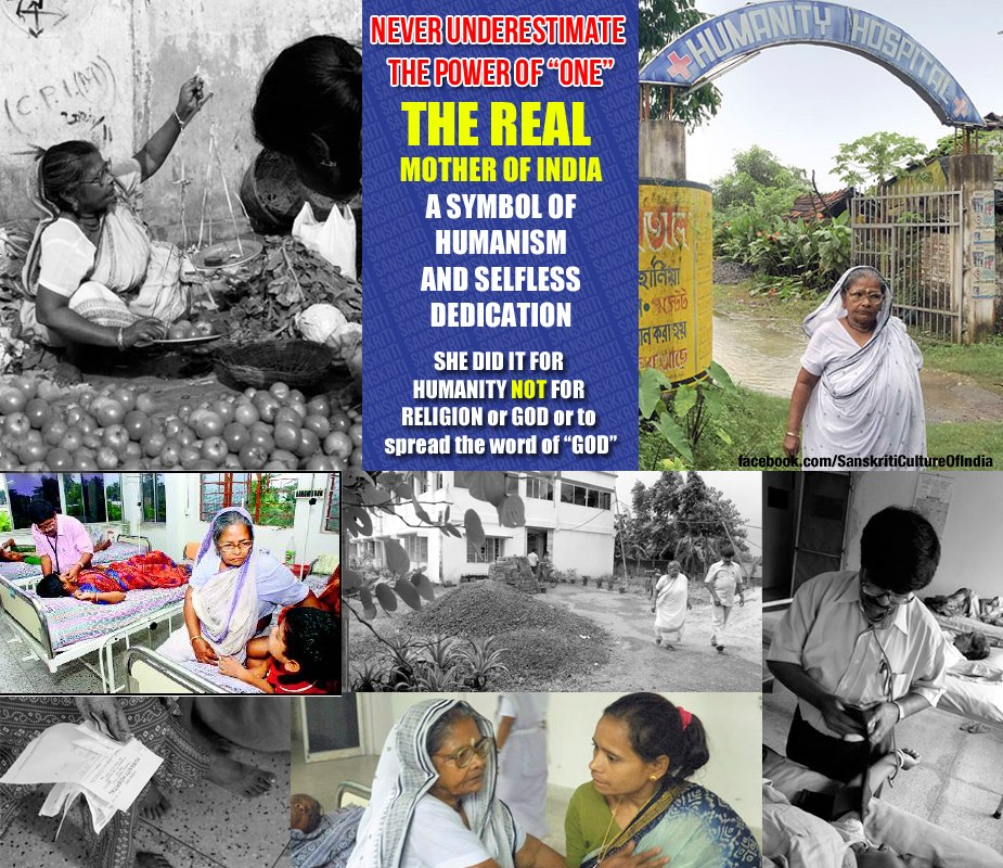 THE REAL MOTHER OF INDIA - Subhashini Mistry