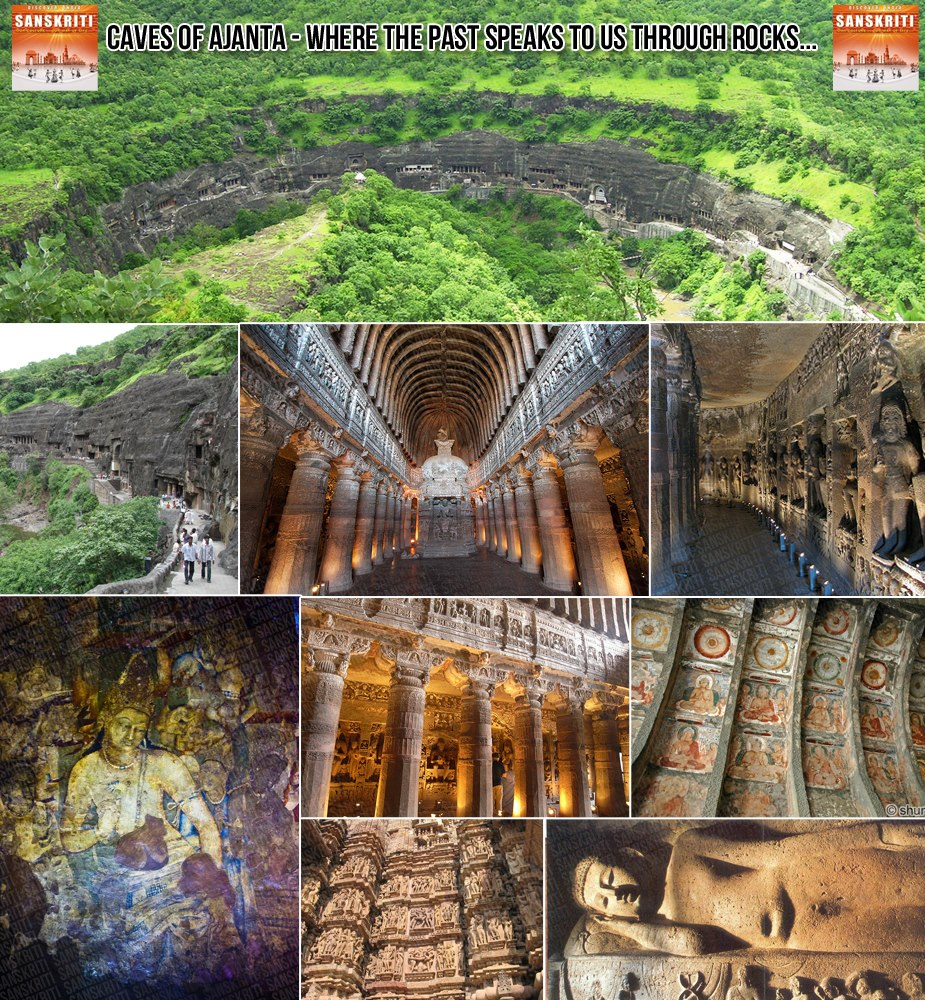 Caves of Ajanta - Reminder of a glorious past...