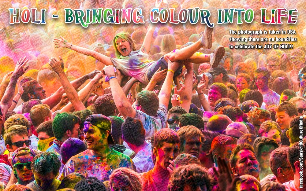Holi: Bringing Colour into Life!!