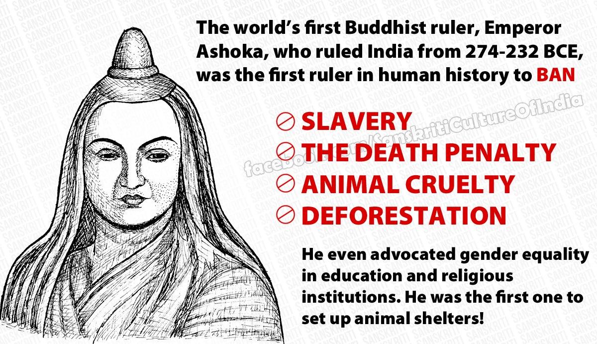 Ashoka - World's first Buddhist ruler