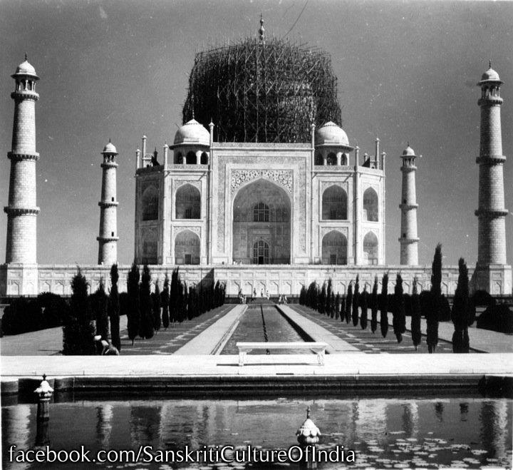 Taj Mahal During WWII