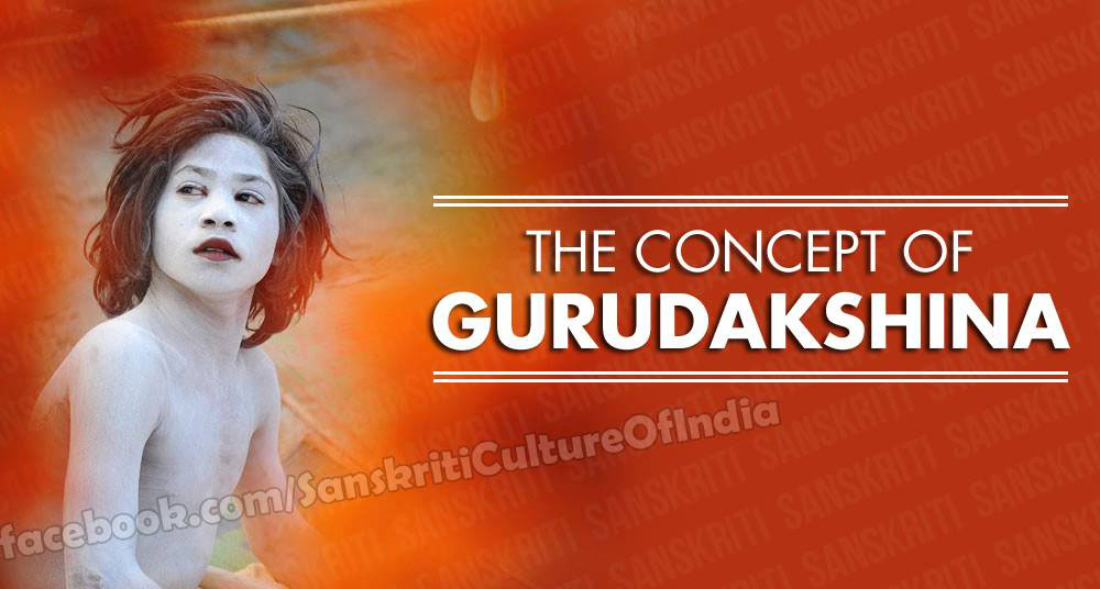 The concept of Gurudakshina