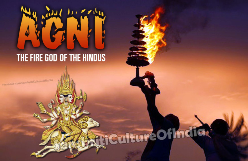Agni:  The Fire God of the Hindus