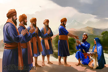 Guru Gobind Singh - Creator of KHALSA!