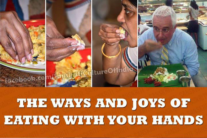 The Vedic Science behind Eating With Your hands