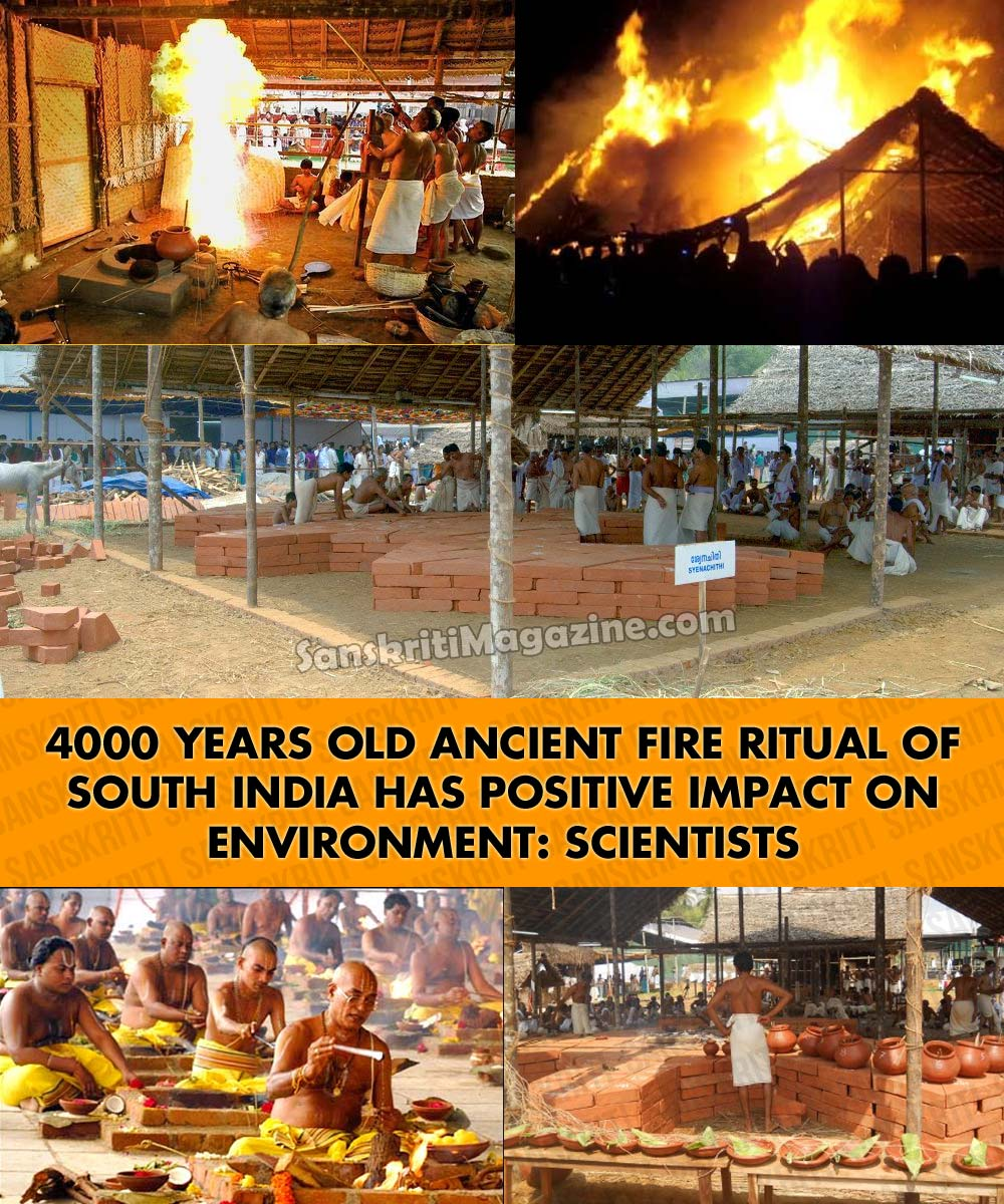 Ancient fire ritual has positive impact on environment: Scientists