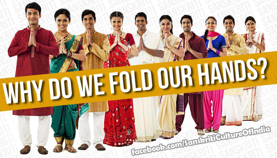 Why do we fold hands?