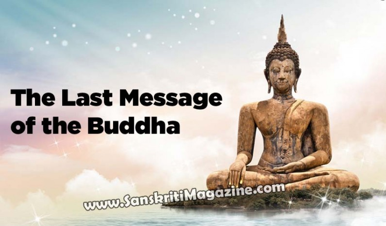 The Last Message of the Buddha