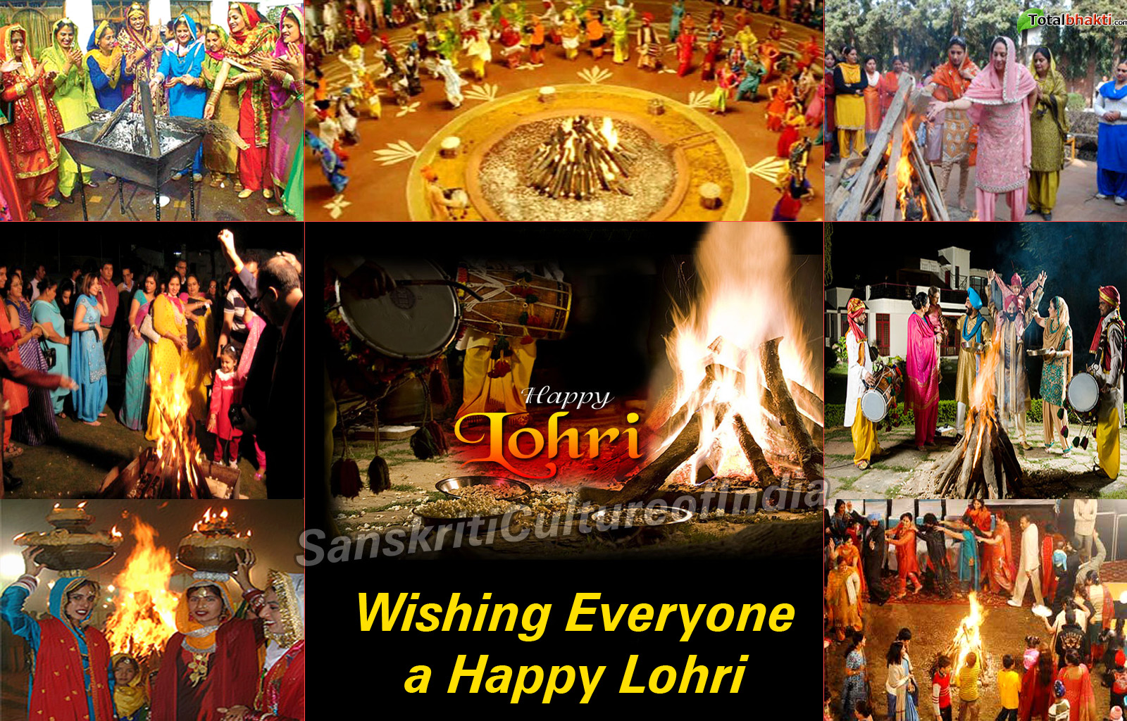 Lohri: The Bonfire Festival