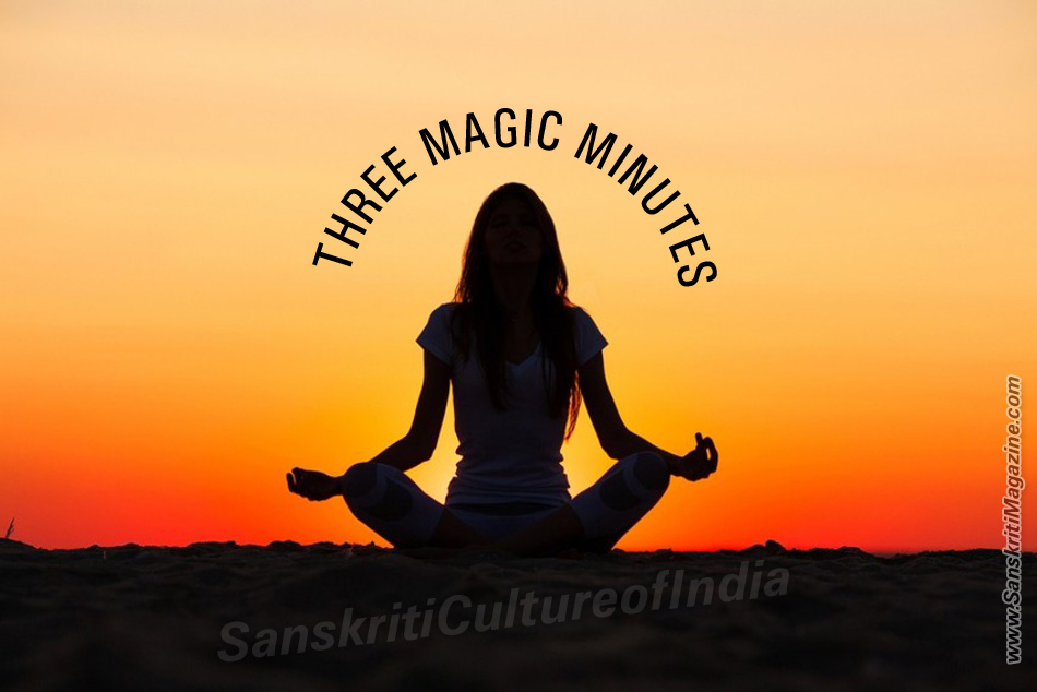 Three magic minutes
