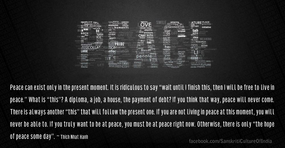 Peace... give it a chance!