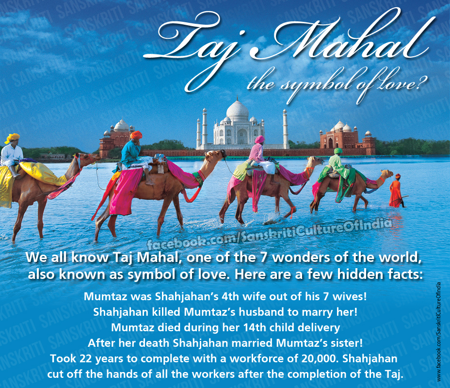 Taj Mahal - The Symbol of Love?