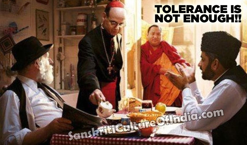 tolerance is not enough