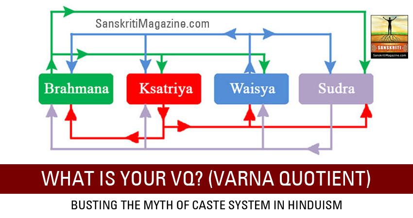 varna system of hindus