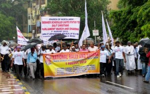 Dalit Christians demanding Reservation Quota