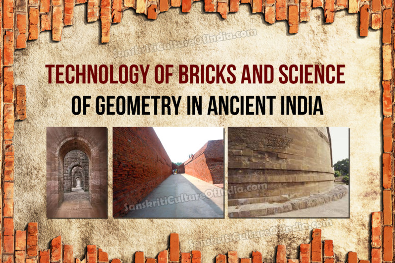 Technology of Bricks and Science of Geometry in Ancient India