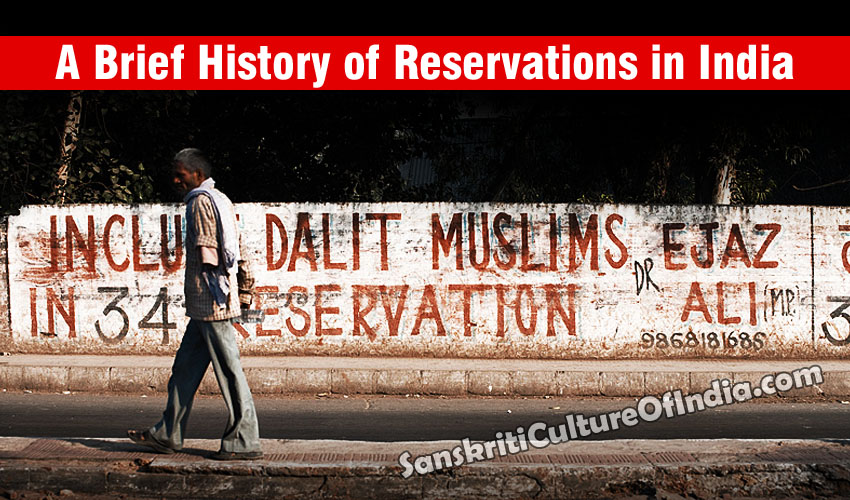 History of Reservation in India