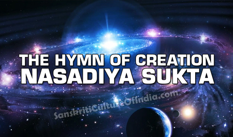 The Hymn of Creation: Nasadiya Sukta