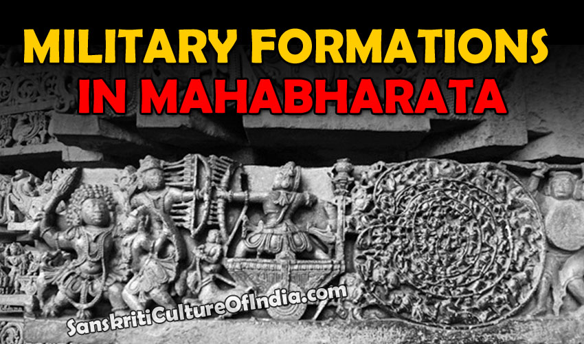 military formations in mahabharat