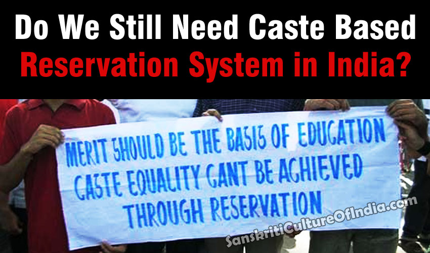 Caste based reservation in India