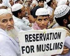 Muslims Demanding Reservations