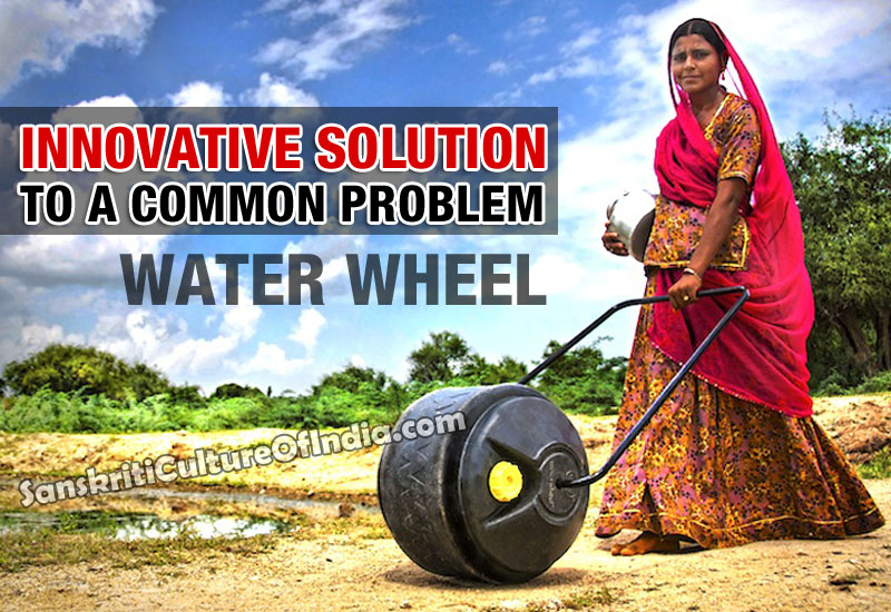 The burden of water - Innovative solution