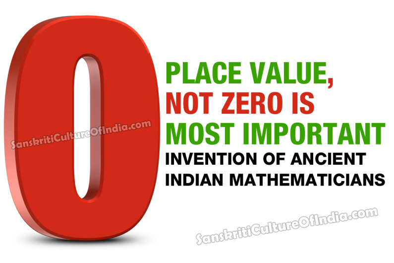 Place Value, not Zero is the Most Important Invention