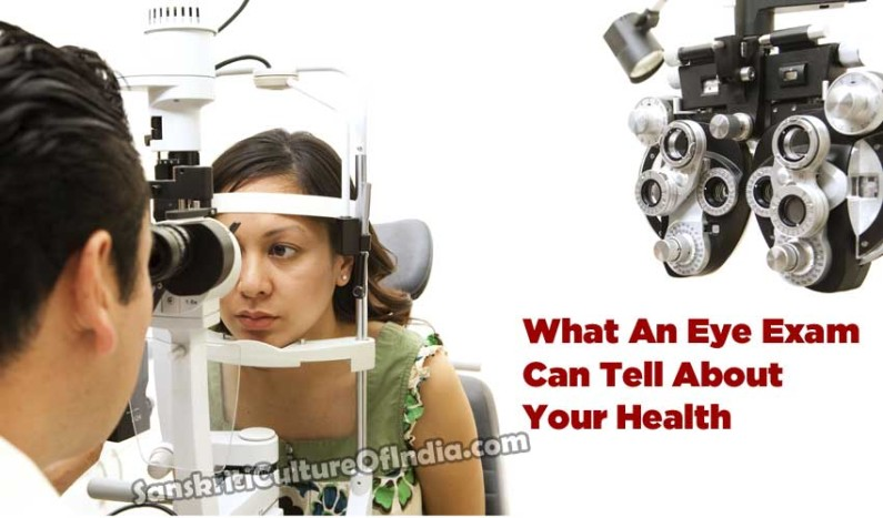 What An Eye Exam Can Tell About Your Health