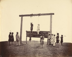 Two Sepoys hanged after 1857 riots