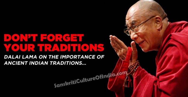 Don't forget your traditions