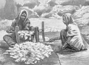 cotton weaving in India