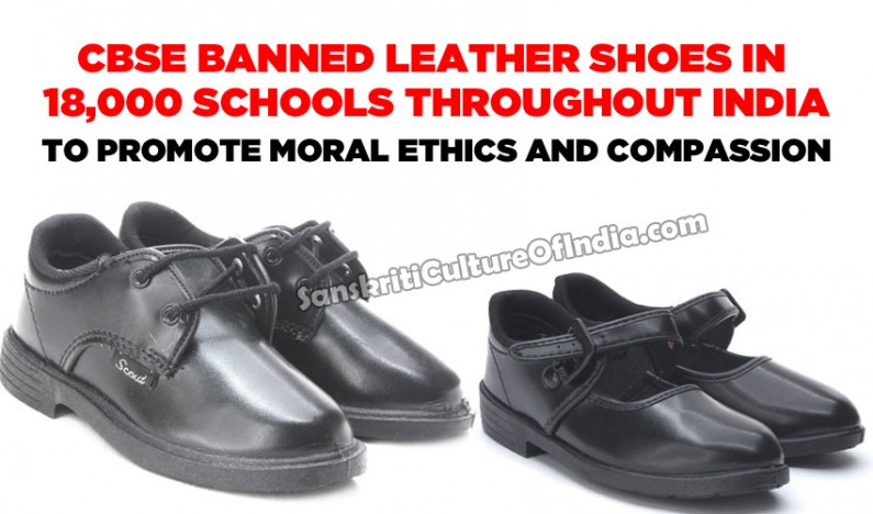 Ban on leather shoes in schools by CBSE lauded by PETA India