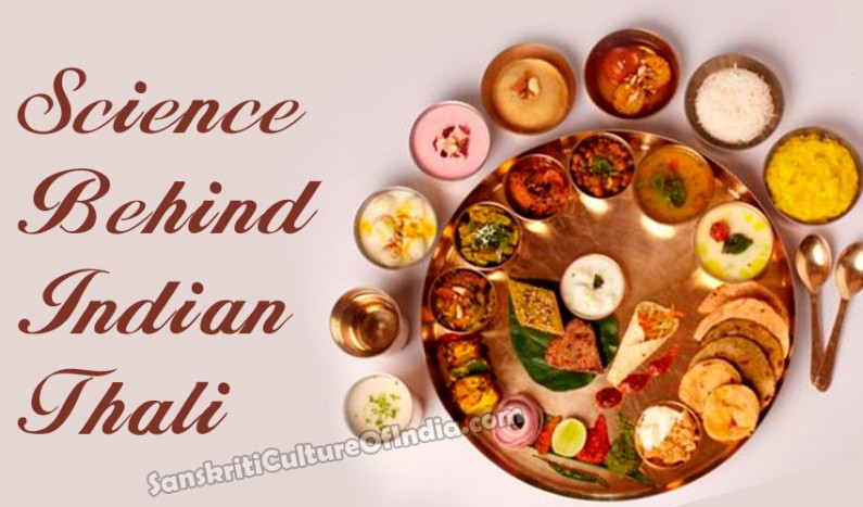 Science behind Indian thali