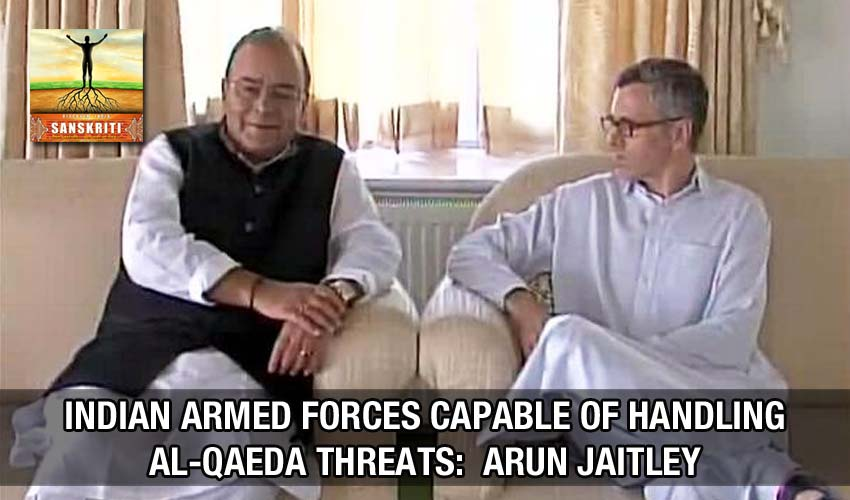 Indian armed forces capable of handling Al-Qaeda threats: Arun Jaitley`