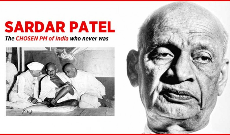Sardar Patel:  The PM of India who never was