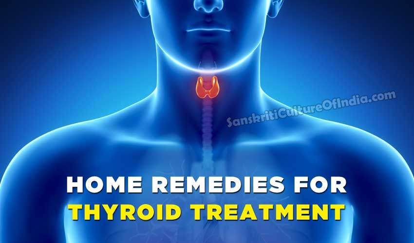 Home Remedies for Thyroid Treatment