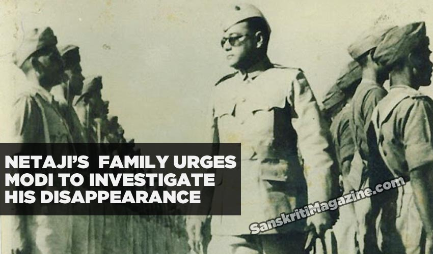 Netaji's family urges PM Modi to investigate his disappearance