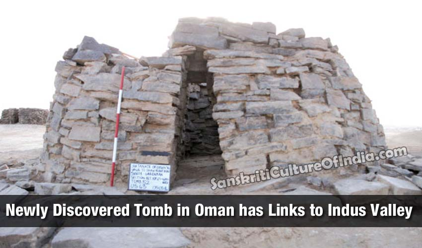 Newly Discovered Tomb in Oman has Links to Indus Valley