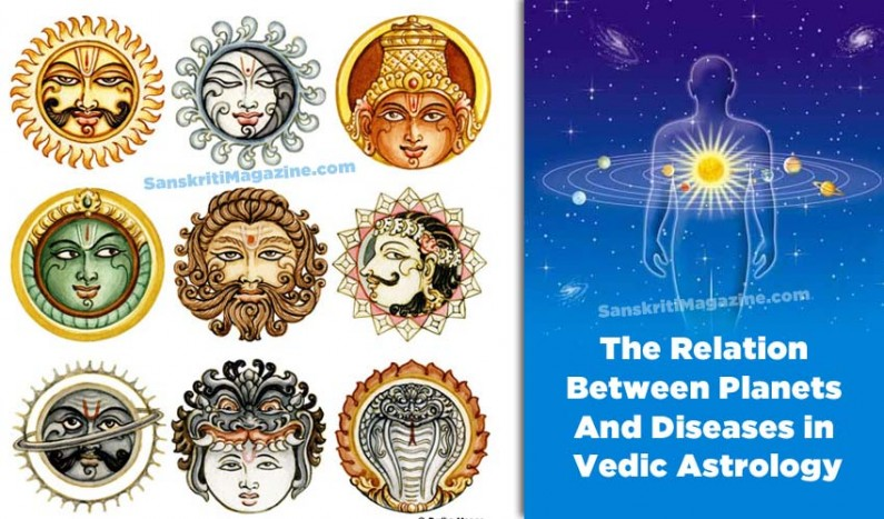 The Relation Between Planets And Diseases in Astrology