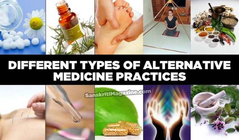 Different Types of Alternative Medicine Practices