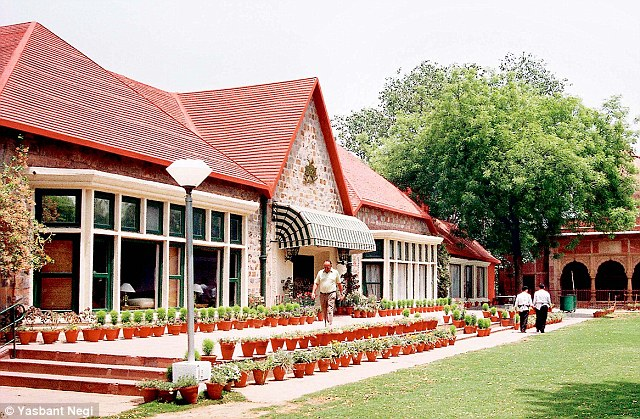 Some of the best clubs in India find it hard to get rid of the colonial hangover. Pictured is Delhi Club