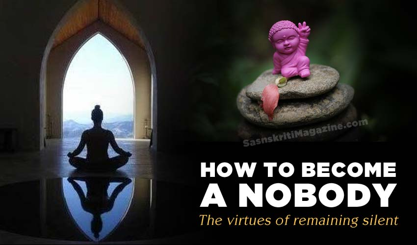 How To Become A Nobody