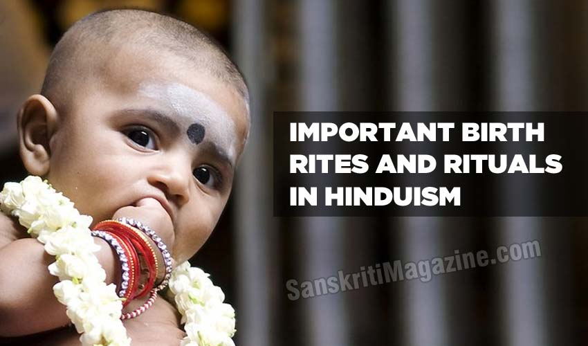 important birth rites in hinduism