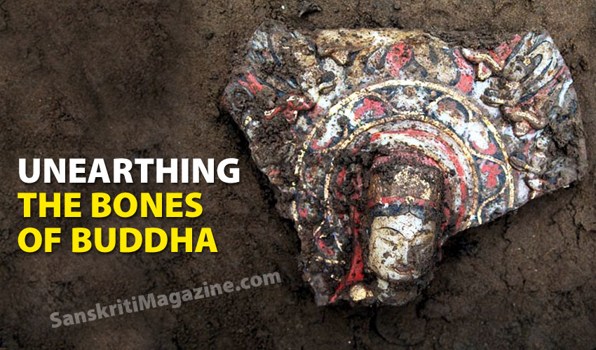 Unearthing the bones of Buddha