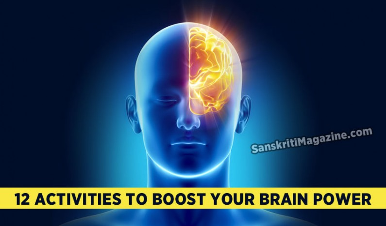 12 activities to boost your brain power