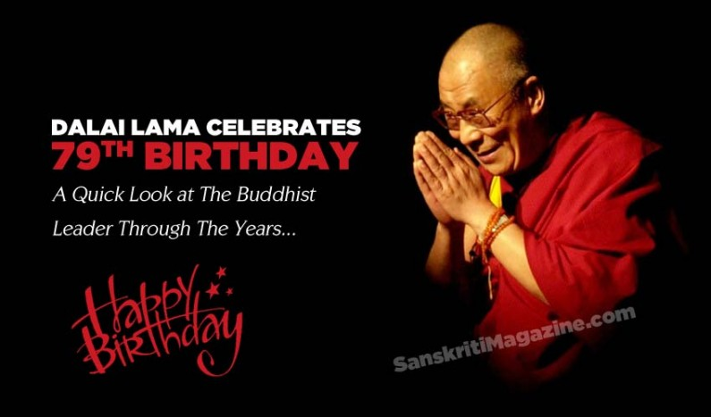 Dalai Lama Celebrates 79th Birthday