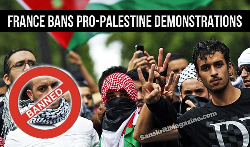 France first country to ban pro-Palestine demonstrations