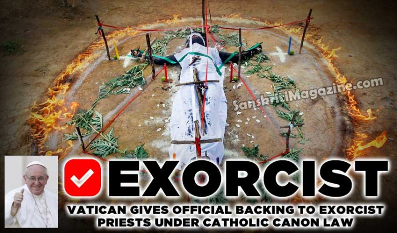 Vatican gives official backing to exorcist priests under Catholic Canon law